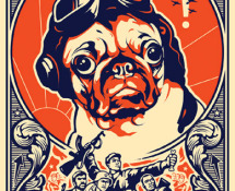 Pug - Obey the Pug Poster