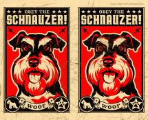 schnauzer dog gift