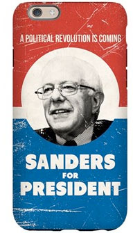 bernie sanders iphone case